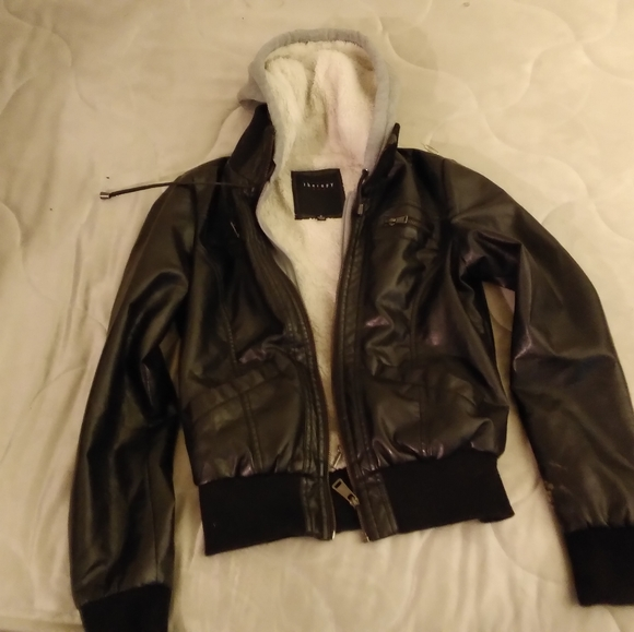 therapy Jackets & Blazers - Therapy leather jacket
